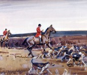 800px-Munnings,_Setting_Off_-_Huntsman_and_Hounds